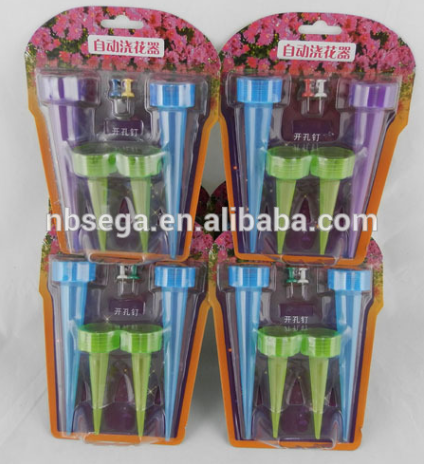 Plastic watering spikes, Auto plant self-watering Mini garden drip irrigation system