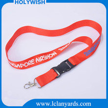 Customized single key lanyard with connect buckle