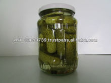 CANNED PICKLED BABY CUCUMBER