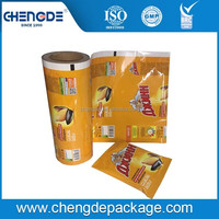 FOR nuts Durable OEM customized Automatic packaging film in roll for food packing manufacturers