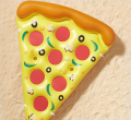 Hot sale! Inflatable water equipment inflatable pizza float in stock