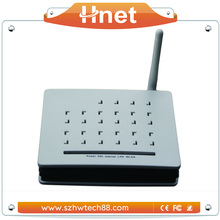 802.11b/g/n Wireless VoIP Gateway ADSL Modem to Connect Wired Ethernet Devices