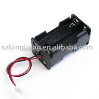 23A ALKALINE battery holder case with wire leads