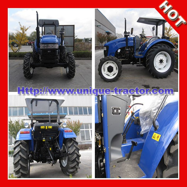 UT80HP 4x4wd farm track tractor price