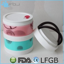 * * 2016 porcelain food container