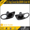 JC Sportline Hot selling E46 M3 Carbon Fiber Fog Lamp Cover for BMW E46 M3