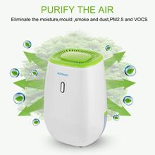Low noise portable 1.2L home mini dehumidifier to remove moisture