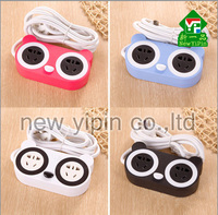 New Yipin Hotsale Power Extension Socket Cartoon USB Electric Plug Socket