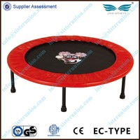 New design cute mini folding gym14Ft trampoline for sale