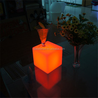 multicolor changing decoration table square 8x8x8 led cube