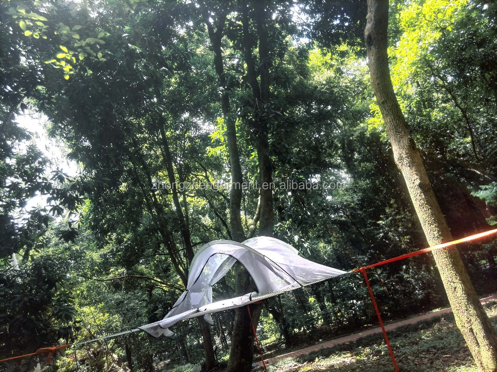High quality hammock tent suspended Tensile tree tent 3 tree hammock for three trees