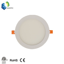 ultra thin Kitchen Ceiling dimmable 12w recessed led panel downlight, led downlight with 170mm cut out
