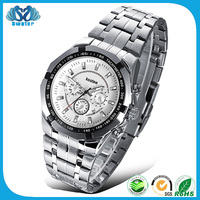 Alibaba Wholesale 3 Atm Stainless Steel Back Watch
