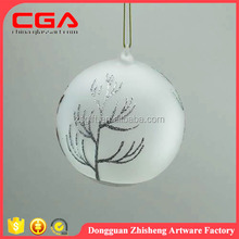 New arrival! home decorations deer design hanging crafts glass ball shape led light cover