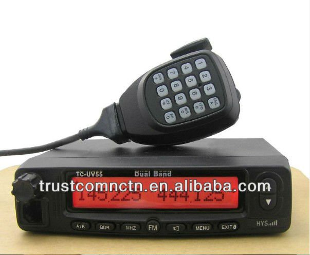 VHF & UHF Dual Band Mobile Two Way Ham & Amateur Radio NEW TC-UV55