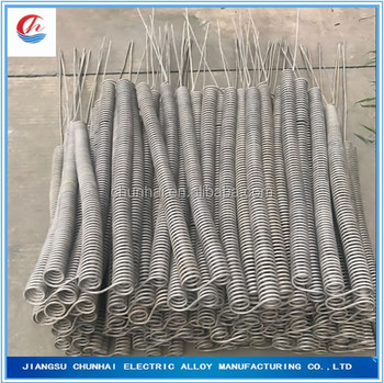 255 fe cr al furnace spiral heating resistant wire