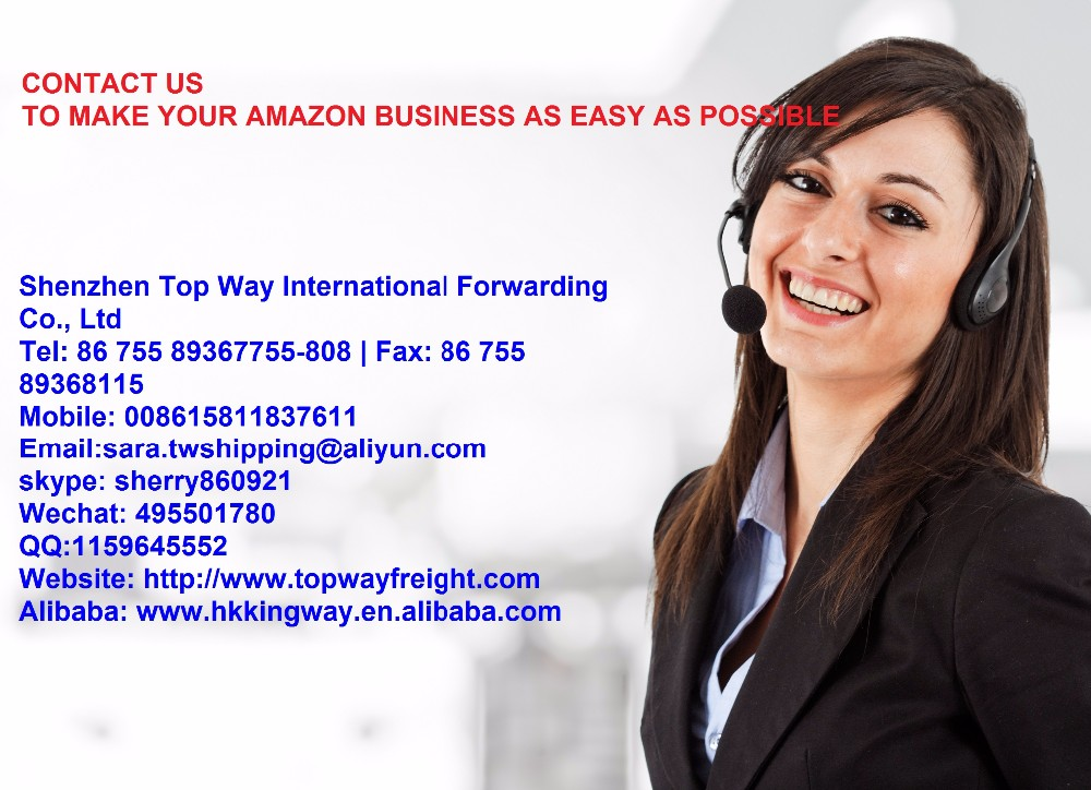Amazon FBA shipping company Shenzhen to USA