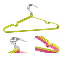Eco-friendly small plastic baby garment hanger by wire hanger machin
