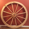 Large Wood Spoke Wheels Small Wood