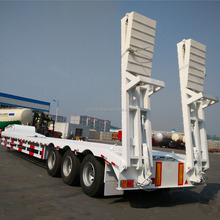 Brand new 3 axles truck trailer low bed semi trailer for sale