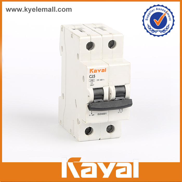 2 pole 40a mcb circuit breaker
