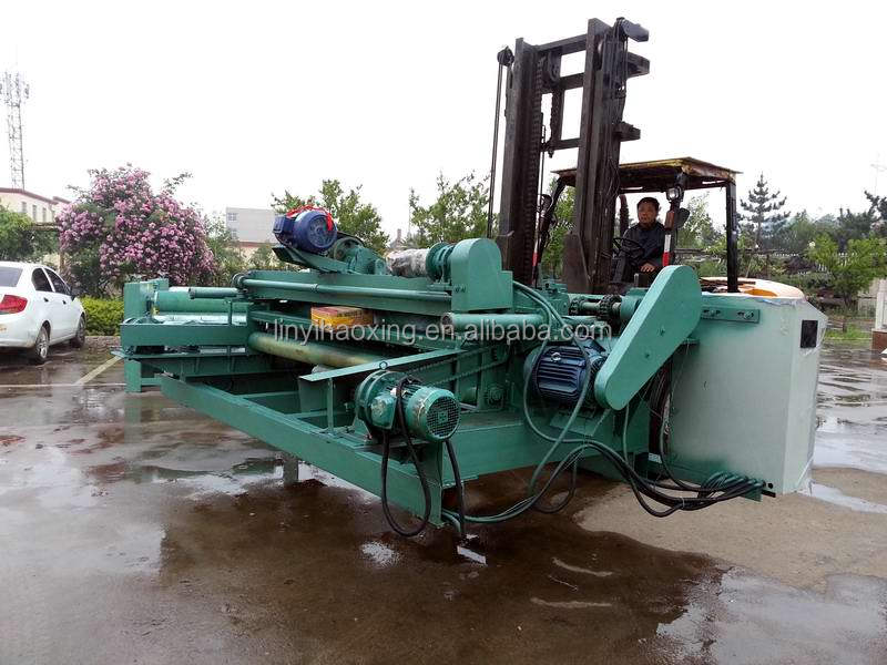 Wood log peeling lathe machine for veneer and plywood producing