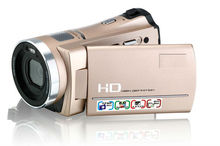 720P HD Digital video Camera With Mp3 player/voice recorder