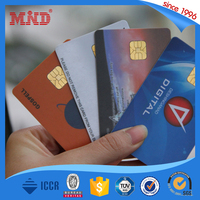 MDC76 low prices pvc contact ic memory card