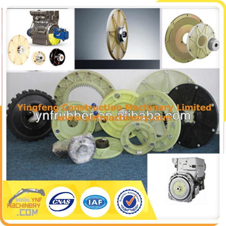 excavator coupling, JCB407B excavator coupling for Deutz 1011 engine fly wheel connected hydraulic pump shaft