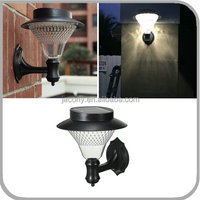 Plastic Water Resistant Outdoor Solar Wall Mounted LED Light 8 16 24 32 LED hot sale with Auto sensor (CB-D622)