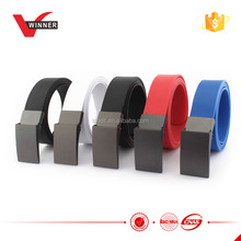hot sale Silicone Rubber Men women Belts with competitive price