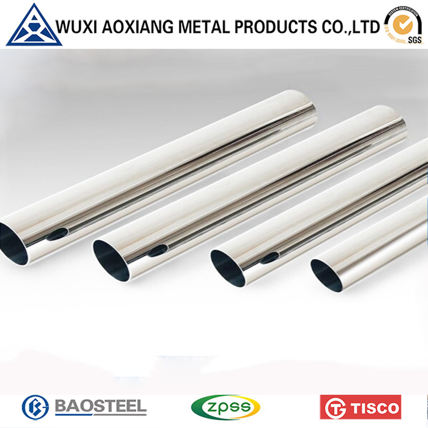 ISO Certification Spiral Stainless Steel Welded Tube 316