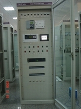 Control protection panels for hydro generator