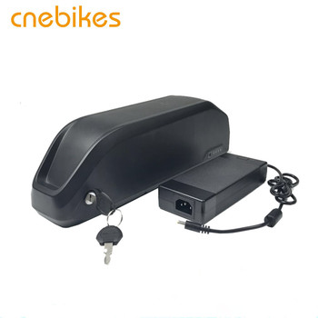 cnebikes 52v 17.5ah Polly down tube 18650 rechargeable lithium battery