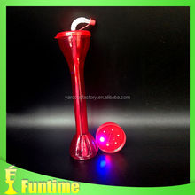 2014 football world cup beer glass led flash cup