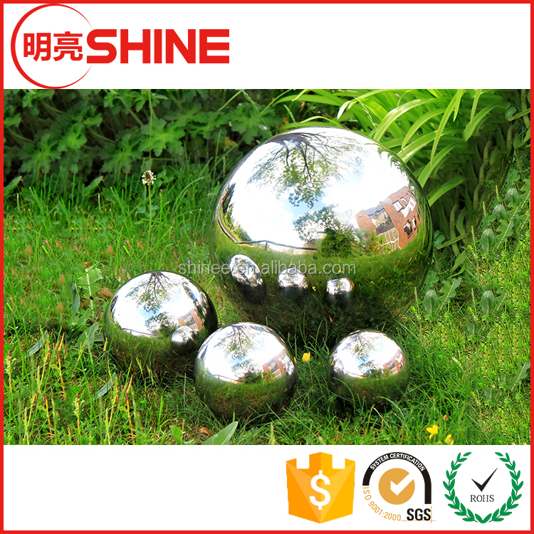 304 Mirror Hollow Stainless Steel Ball