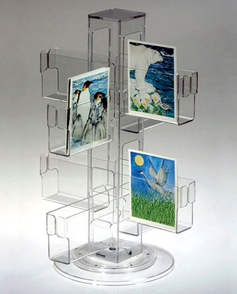 Top china supplier customized high quality acrylic display stand acrylic bookshelf