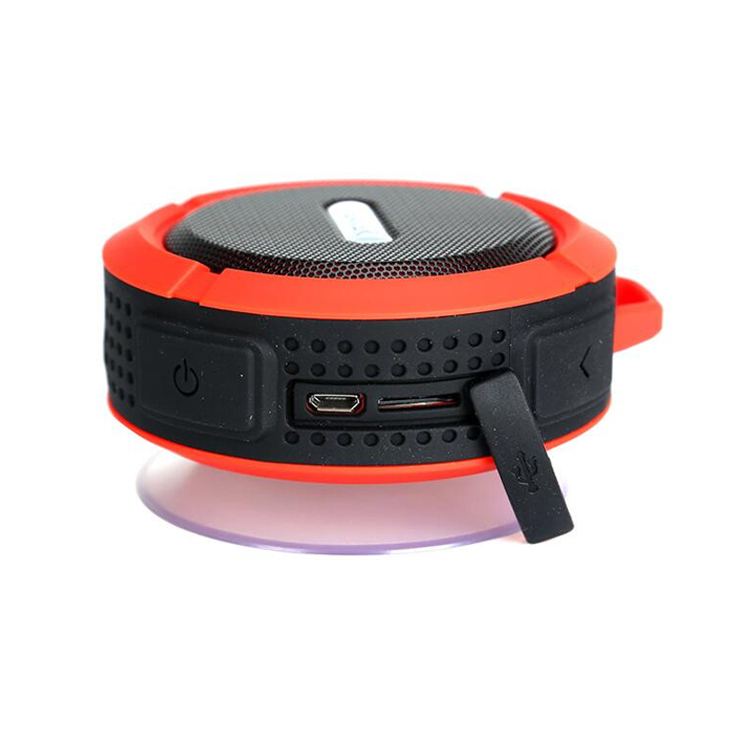 High Power 3W Waterproof Outdoor Mini Bluetooth Speaker for call and music