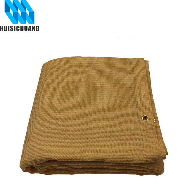100% new HDPE fabric sun shade sail for outdoor shading