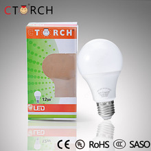 Hot Sale China Ctorch e27 12w A65 led work light bulb skd b22 e27