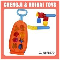 Sand beach set building blocks cart modern toys for children