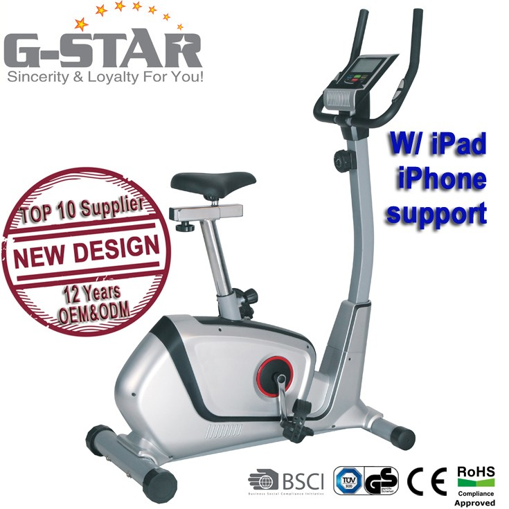 GS-8727 Indoor Magnetic Exercise Upright Bike for home use