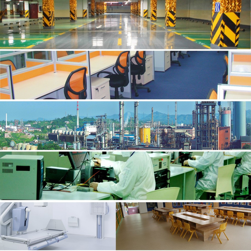Decorative Epoxy Flooring Industrial Commercial Epoxy Seamless Resin Based Flooring