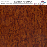 Sales Promotion Dazzle Wood Pattern No.DGM-9506 Water Transfer Printing Film Hydrographic Film