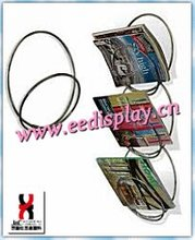ultramodern brochure/magazine holder distributor/wall mounted Magazine Display Rack For Promotion/Supermarket