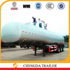 60cbm 3 axles gasoline / oil / diesel / petroleum tank trailer