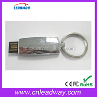 usb stick 8gb China export metal usb stick promotion gift for Christmas with key chains and free sample
