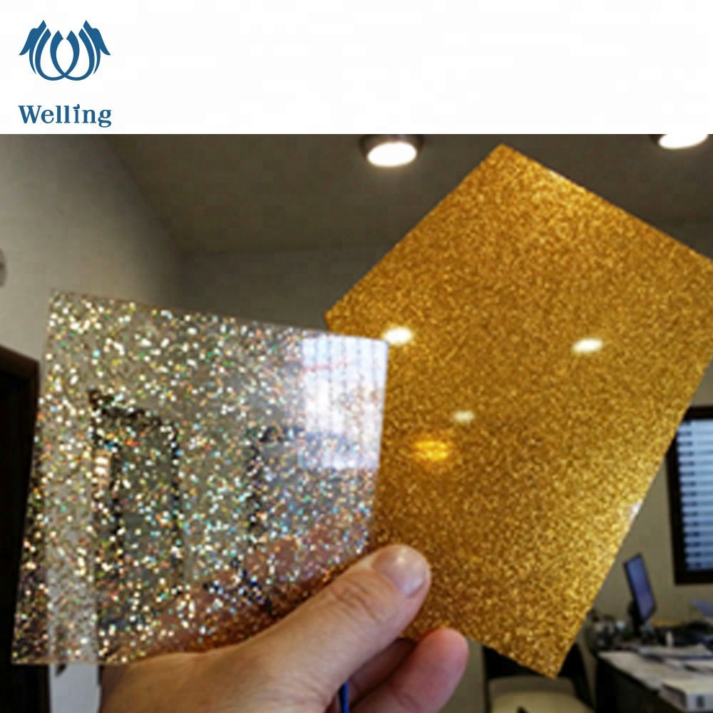 REACH & ROHS PMMA 4x8 2mm 3mm 10mm price color cast glitter ACRYLIC Plexiglass <strong>sheet</strong>