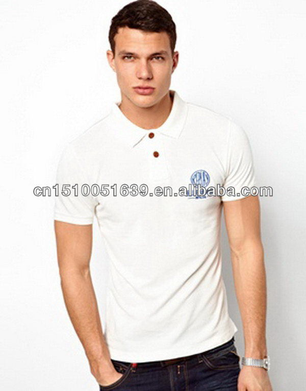 Online shopping for clothing pique men polo-neck