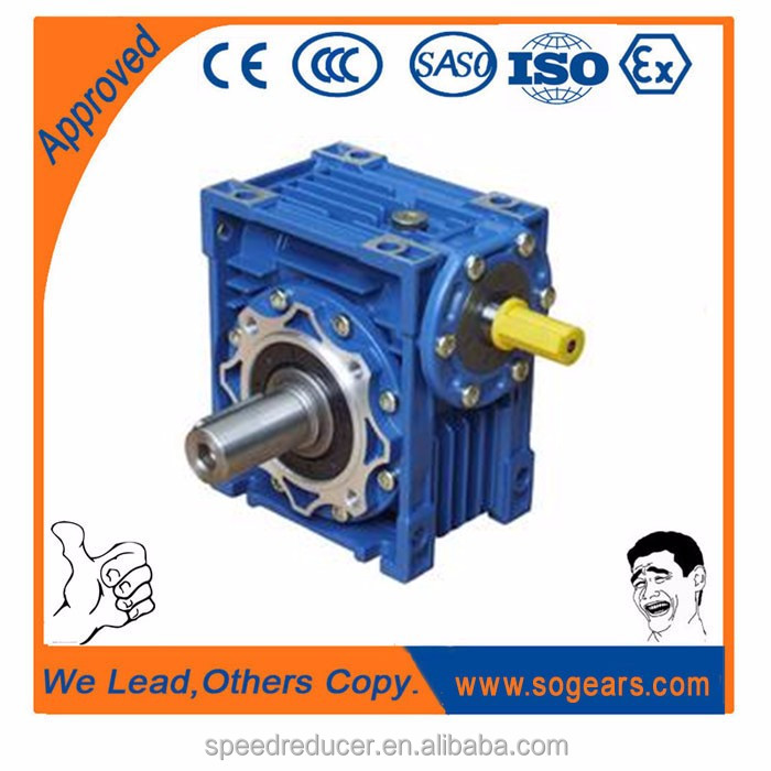 1:80 ratio speed reducer gearbox